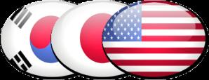 RoK_Japan_USA_Flag