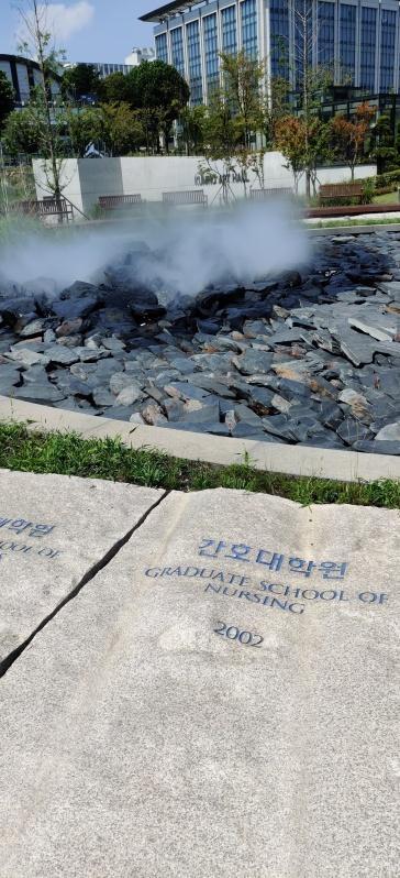 Yonsei - Campus Fontäne 1